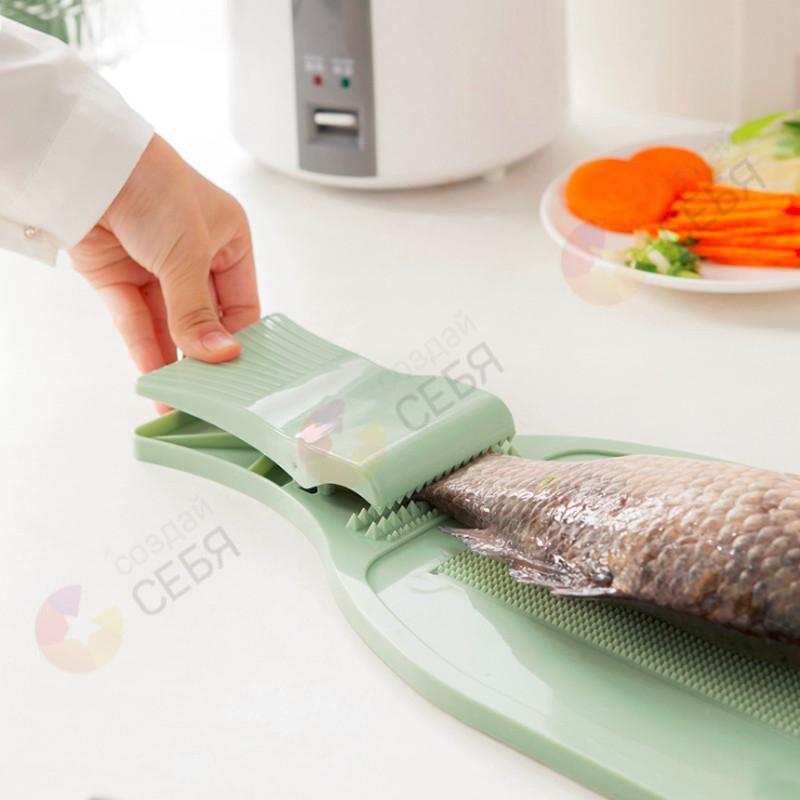Доска для разделки рыбы с зажимом своими руками 138